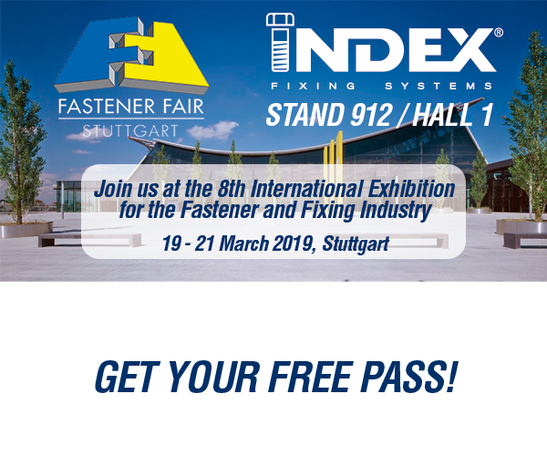 Join us at the 8th International Exhibition for the Fastener and Fixing Industry