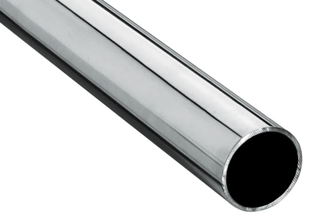 Satinless steel pipe