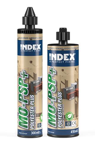INDEX. A Perfect Fixing - MO-PSP+ Polyester PLUS sin estireno color piedra. Homologado ETE Opt.7