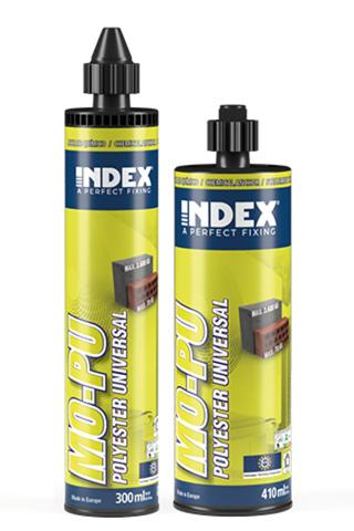 INDEX. A Perfect Fixing - MO-PU Polyester universal. Homologado ETE Opt.7