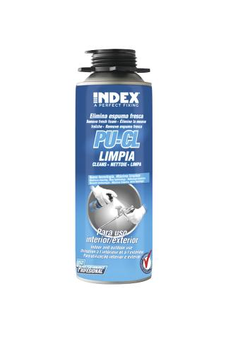 INDEX. A Perfect Fixing - PU-CL Cleaner for polyurethane foam accessories
