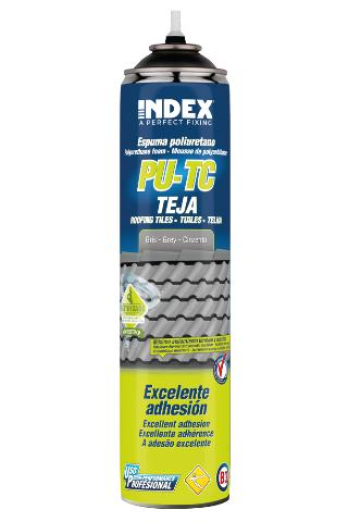 INDEX. A Perfect Fixing - PU-TC Polyurethane foam for fixing tiles. For nozzle application