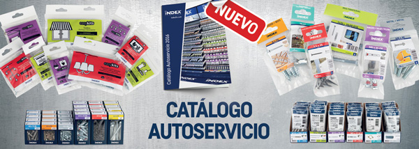 Discover the new Self-Service Catalogue of INDEX Fixing Systems