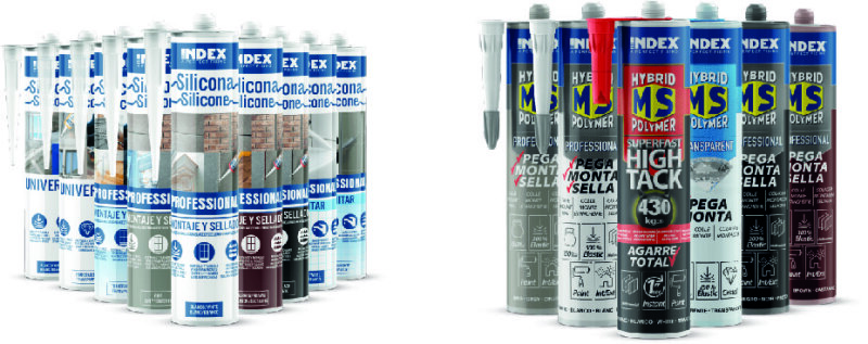We expands our catalog with a full range of MS Adhesives and Silicones.