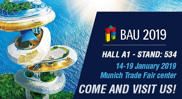 Solicita una invitación para la feria BAU de Múnich 14-19 ENERO