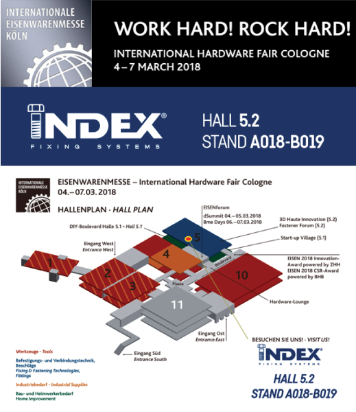 2018 EISENWARENMESSE - International Hardware Fair Cologne