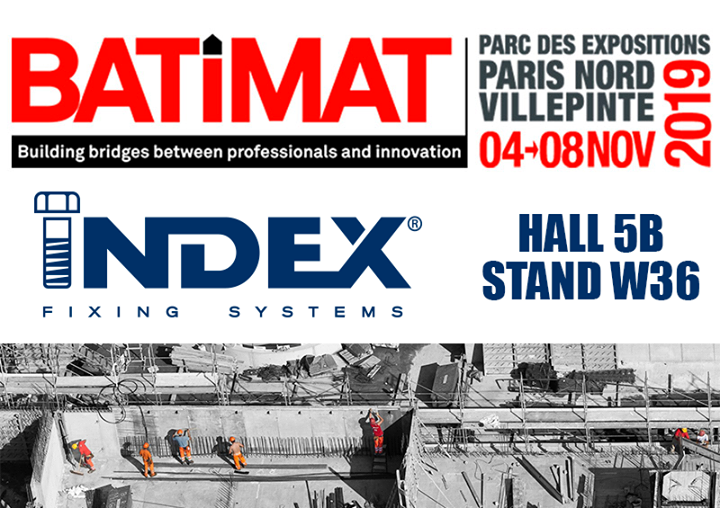Visit us from November 4th to 8th at Batimat fair.