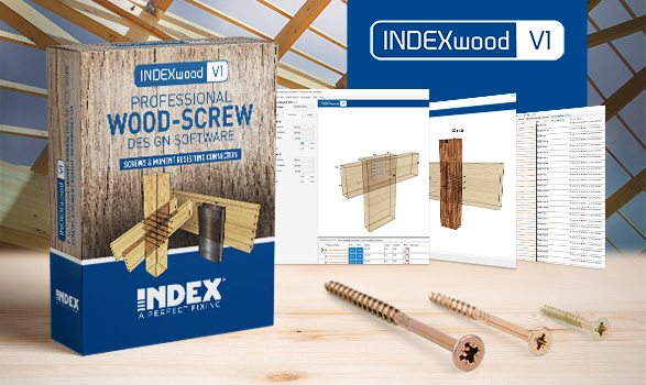 We've launched INDEXwood, a new design software for calculating wooden structures.