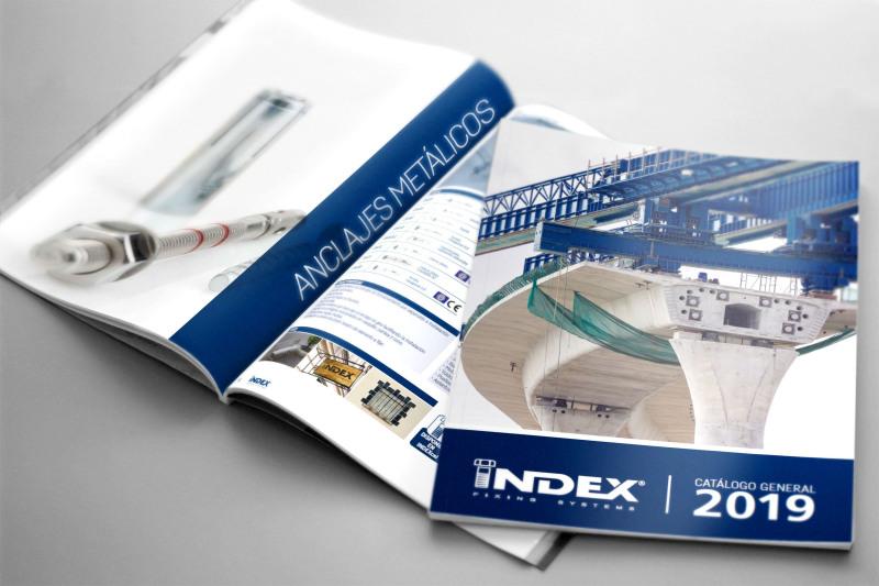 INDEX Fixing Systems lance ses nouveaux catalogues 2019