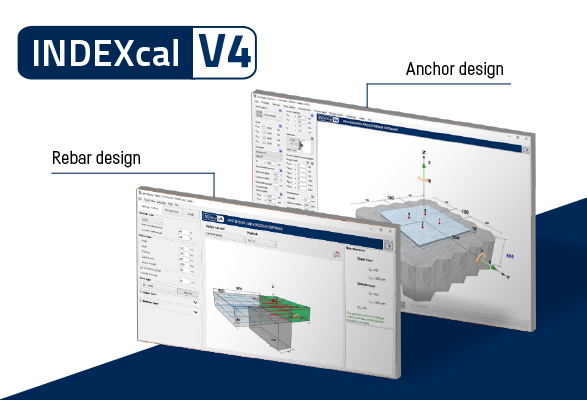 New INDEXcal V4 suite - Now with Rebar design module